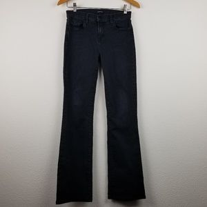J Brand jeans 30 high rise black flare Betty